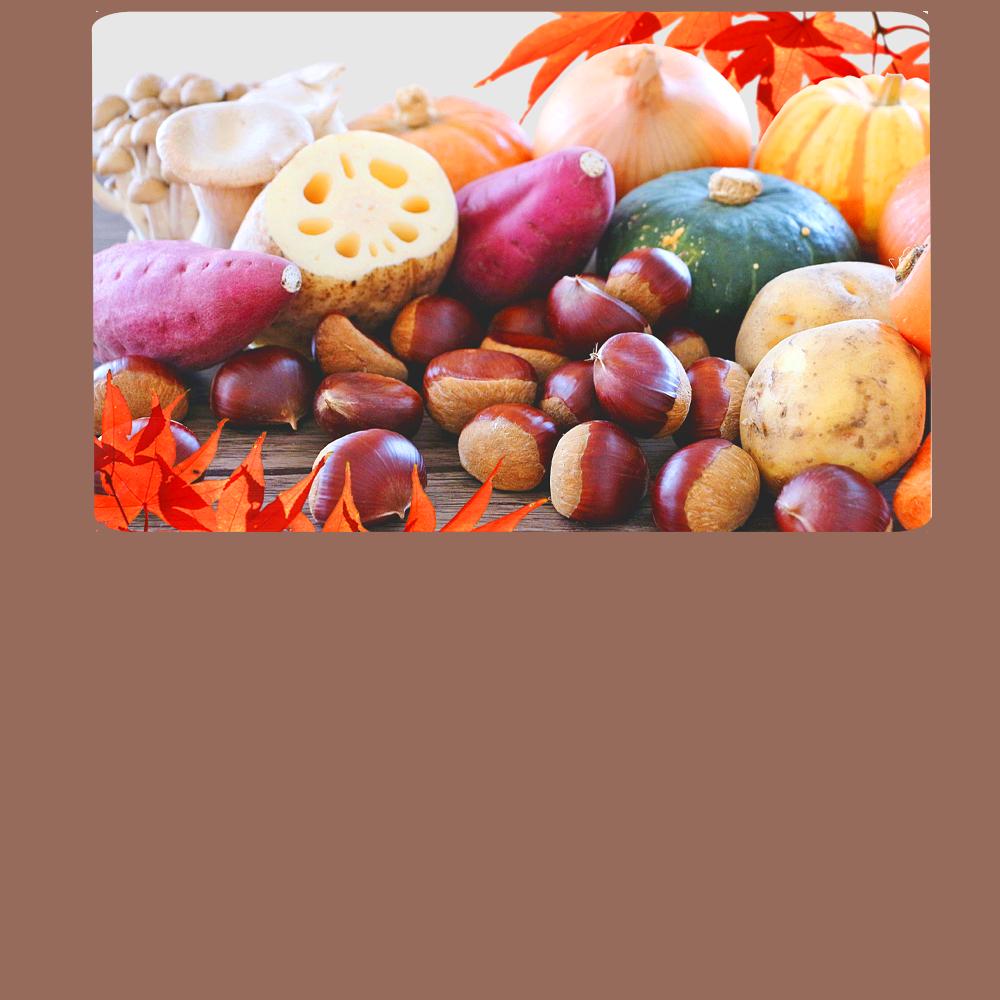 秋の大収穫祭イメージ